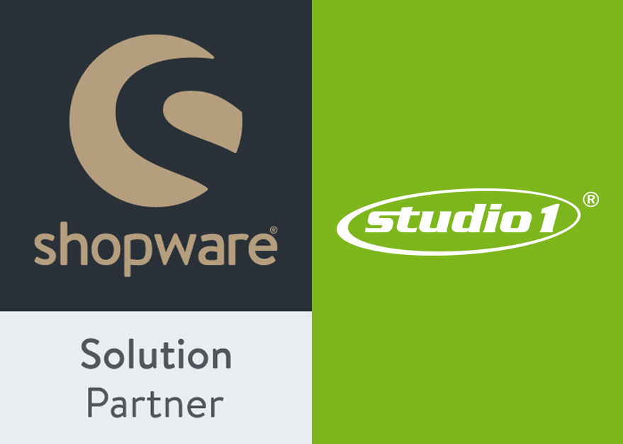 Studio1 ist Shopware Solution Partner