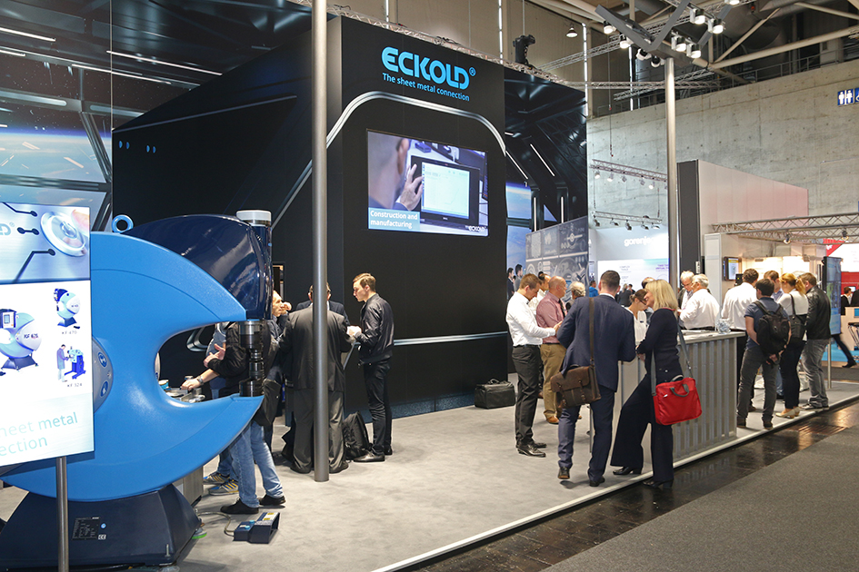Studio1® Referenz ECKOLD Messestand