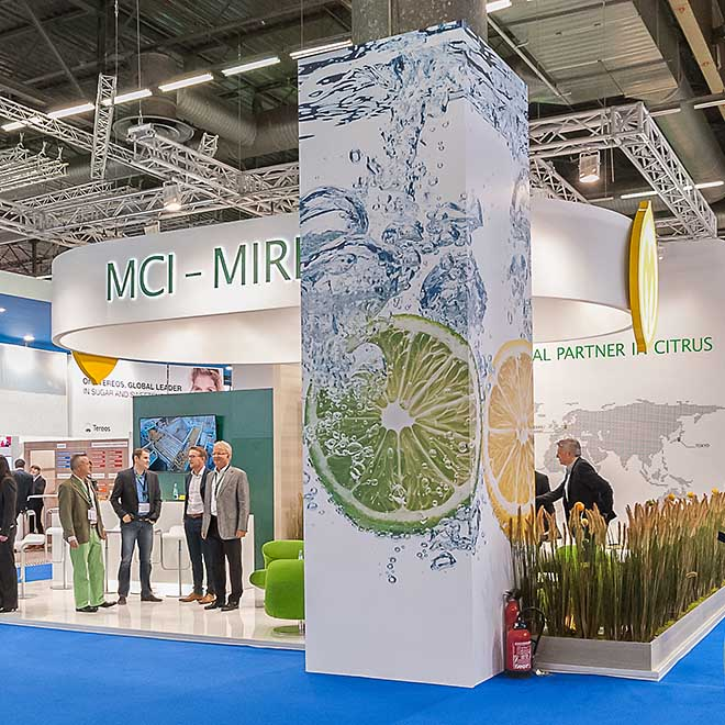 Messestand MCI Miritz