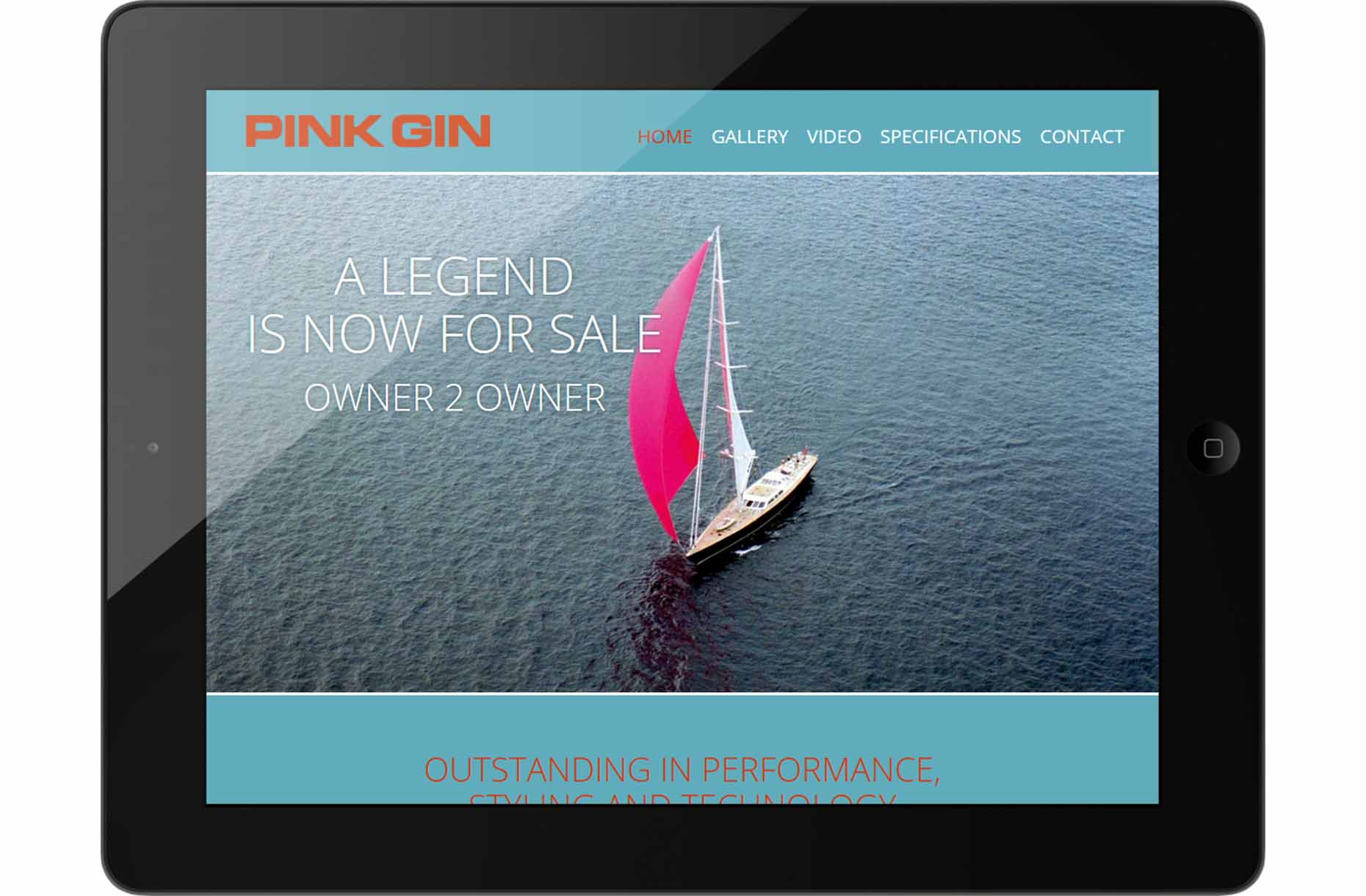 Studio1® Referenz PinkGin Saleskampagne Website