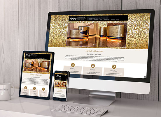 Studio1® Referenz Midas Website