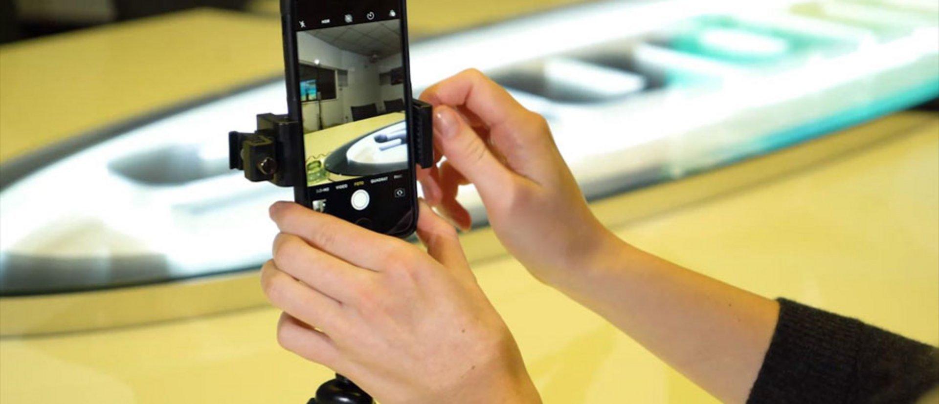 Smartphone Video Drehen
